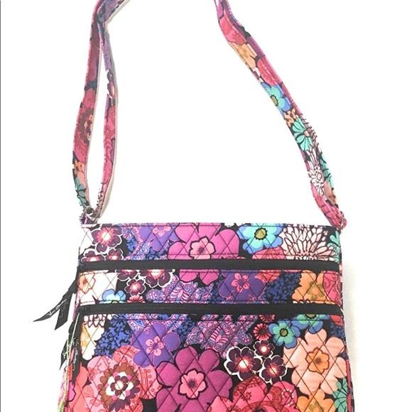 69ef565e19 Vera Bradley triple zip hipster in floral fiesta.  M 5b78037d283095e230c49275. Other Bags ...